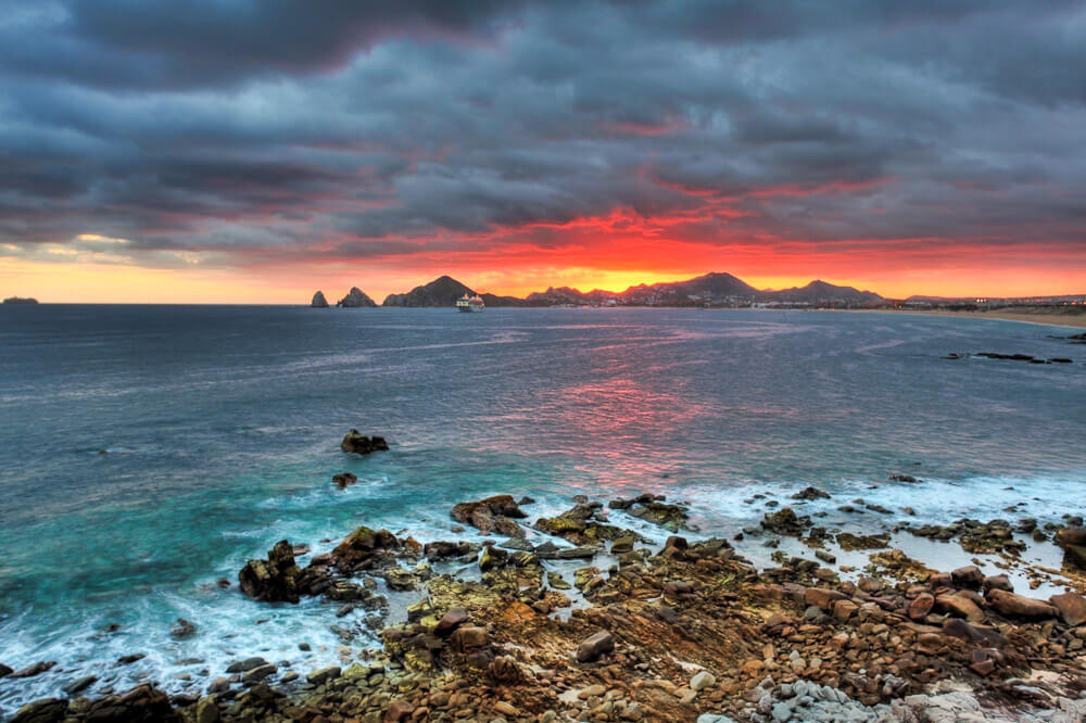 Sunset Monalisa Photos Los Cabos Mexico