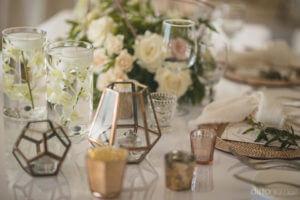 Details of the table setup - Kimber & Julius' Warmsley Wedding