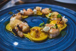 SunsetMonalisaRestaurant_ShrimpAndCornRavioli