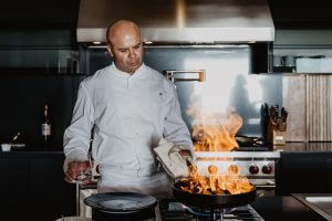 Chef Jacob Ramos of Sunset Monalisa Restaurant in Cabo